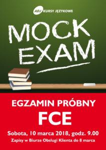 Egzamin próbny FCE